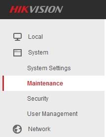 maintenance-hikvision