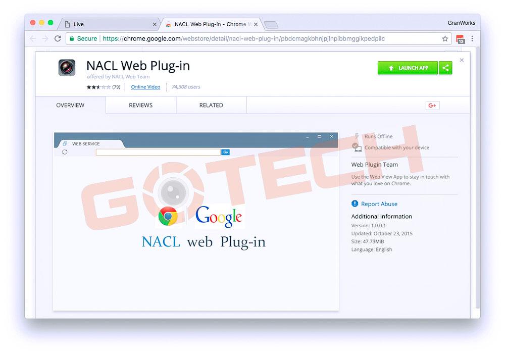 nacl-web-plug-in-chrome